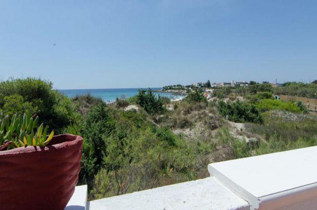 Vista mare da villa bellavista di Punta Prosciutto a Porto Cesareo
