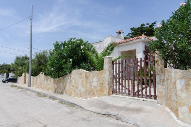 L'ingresso della casa vacanza