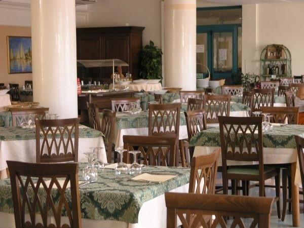 Sala ristorante della struttura