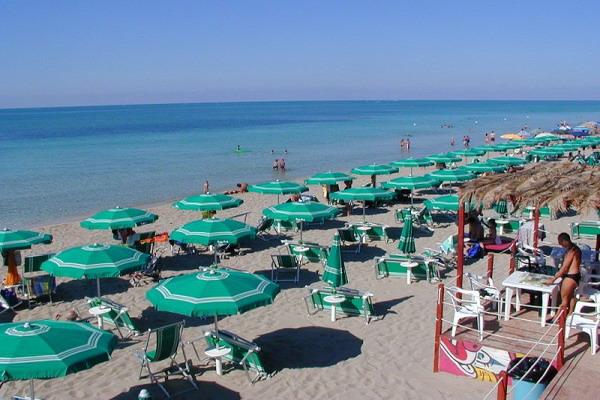 Spiaggia privata del Residence