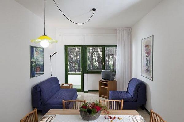 Appartamento con soggiorno e una camera da letto del Campoverde Village
