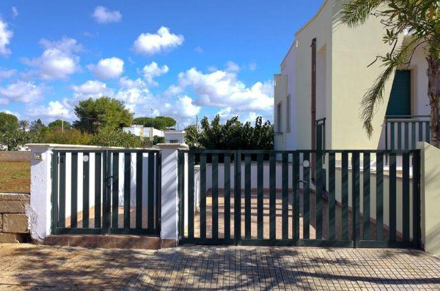 Entrata alla residenza privata DelSalento